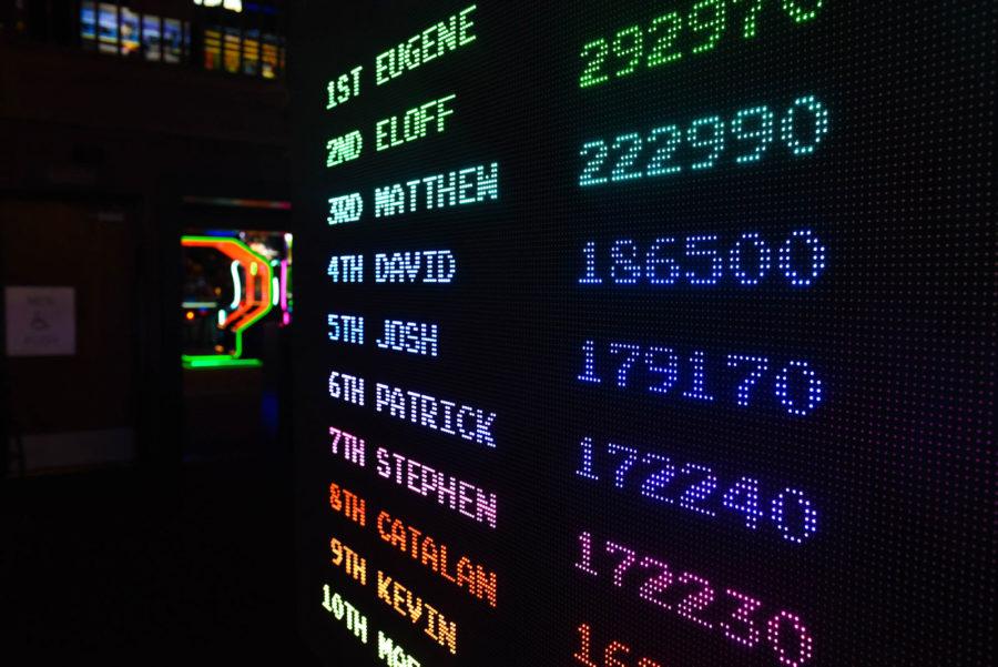 arcade game screen